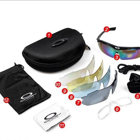 KÍNH OAKLEY 5 IN 1