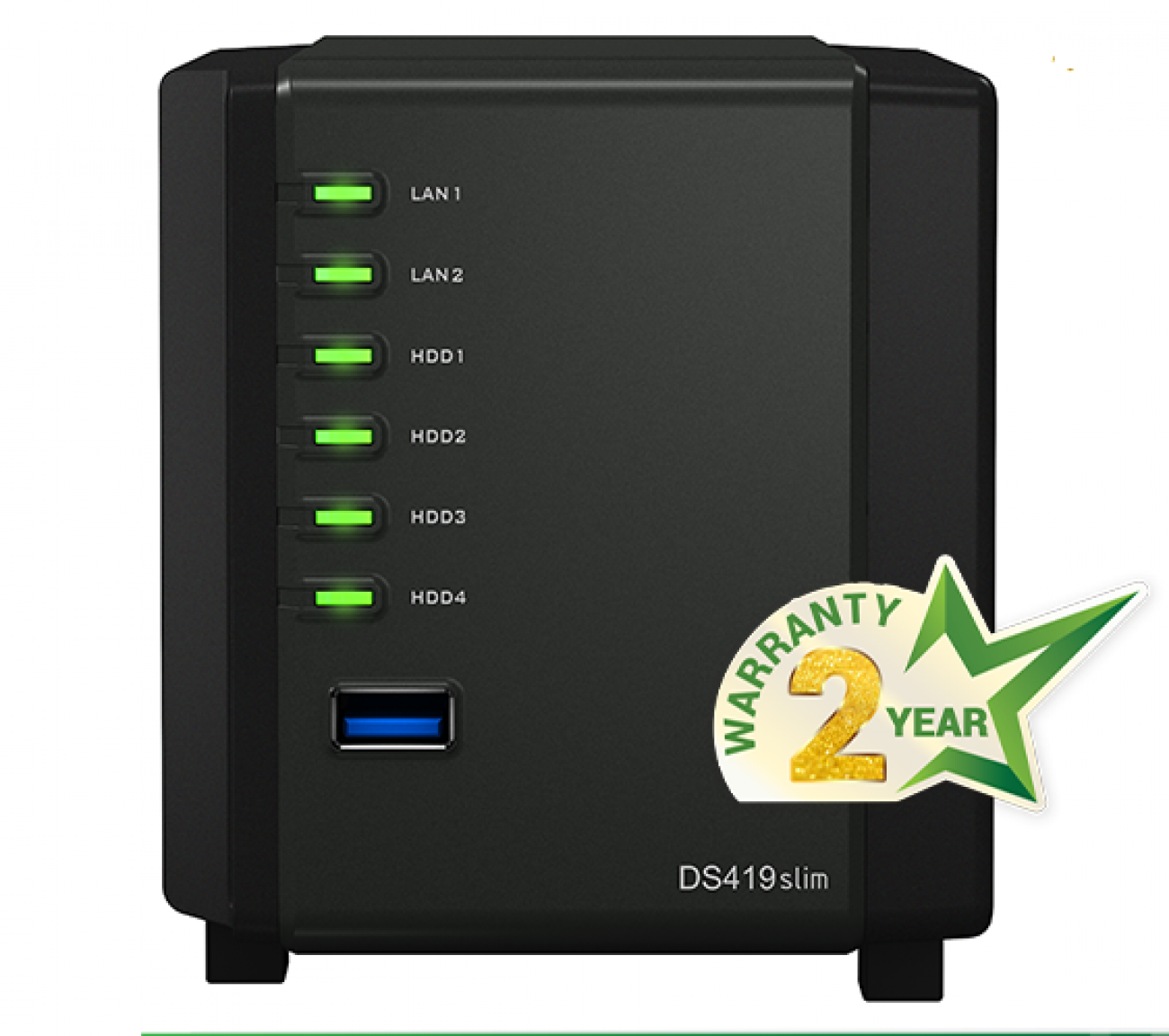 NAS Synology DS419 slim