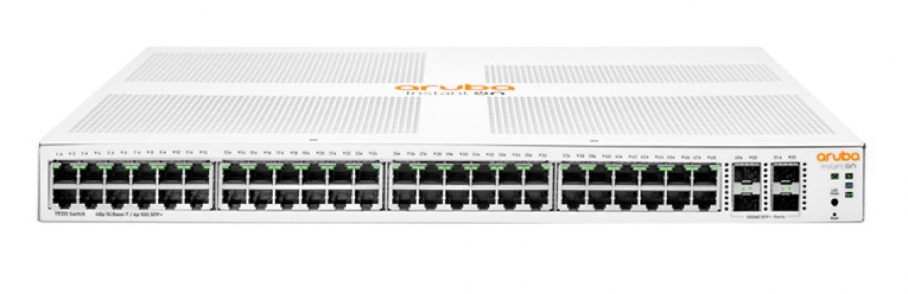 JL686A - Aruba Instant On 1930 48G Class4 PoE 4SFP/SFP+ 370W Switch