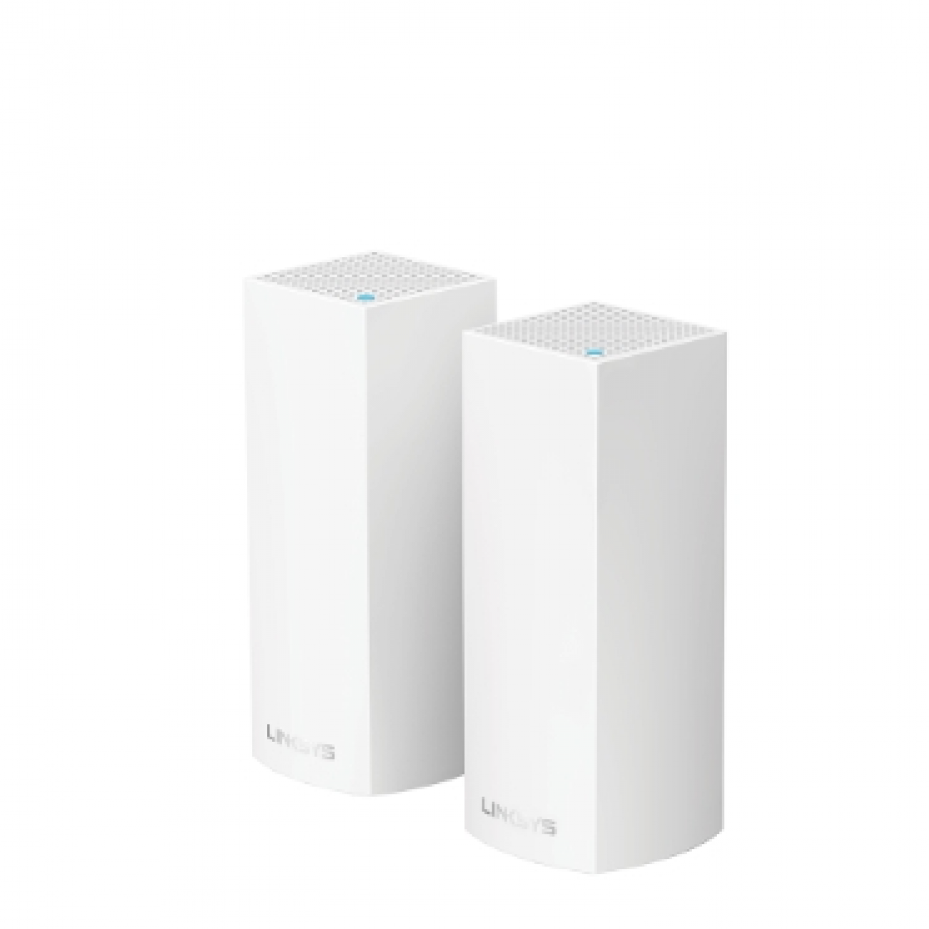 LINKSYS VELOP WHW0302-AH TRI-BAND AC4400 INTELLIGENT MESH WIFI SYSTEM WIFI 5 MU-MIMO SYSTEM 2-PK