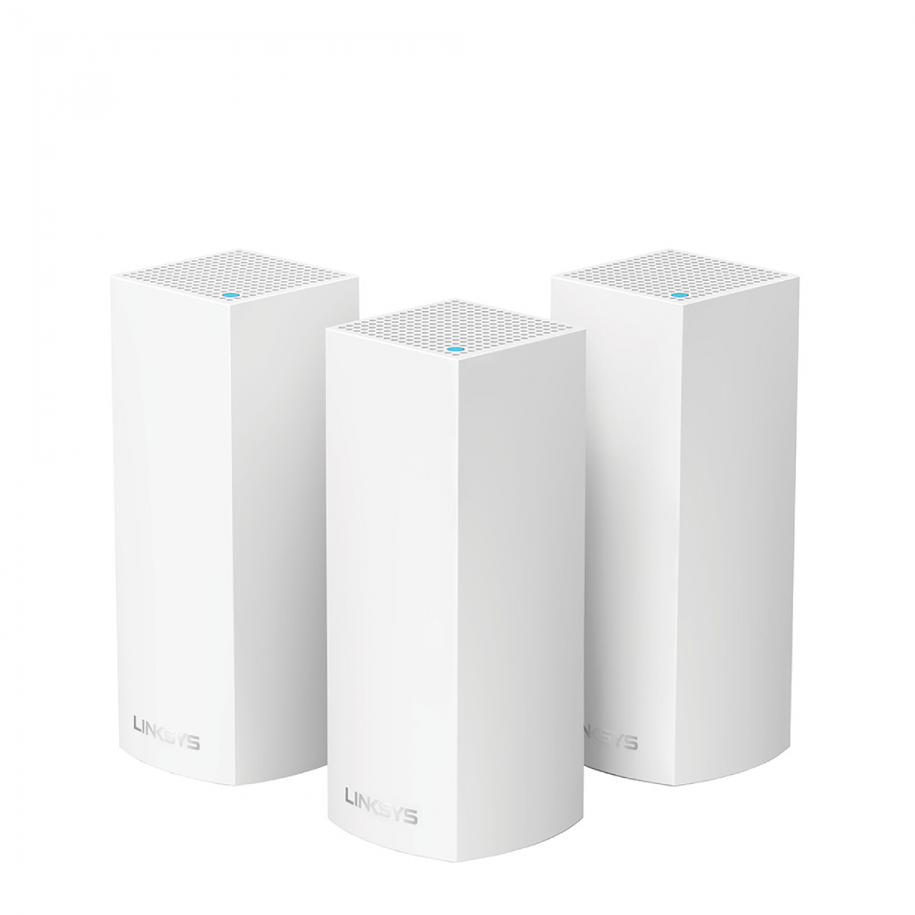LINKSYS VELOP WHW0303-AH TRI-BAND AC6600 INTELLIGENT MESH WIFI SYSTEM WIFI 5 MU-MIMO SYSTEM 3-PK