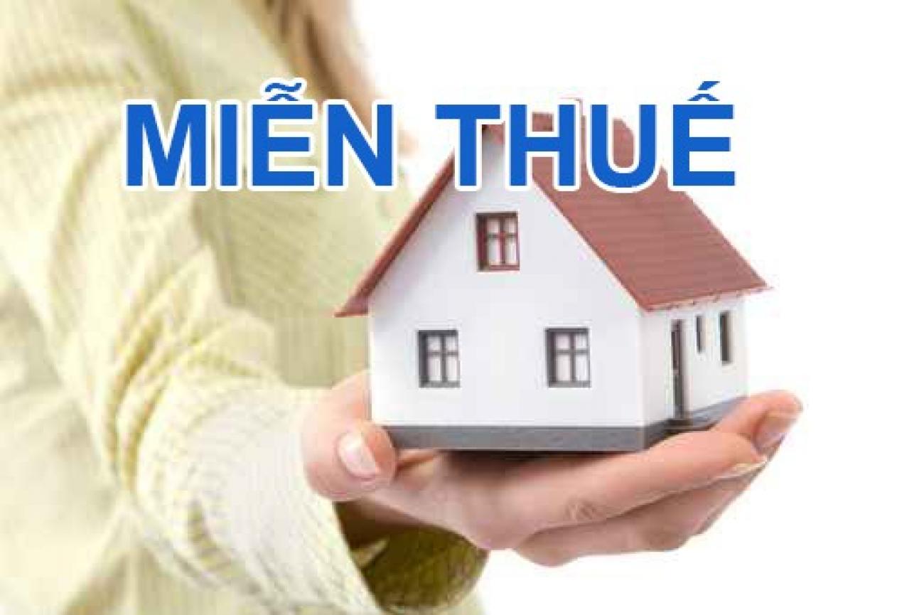 Miễn thuế thu nhập cá nhân đối với thu nhập từ chuyển nhượng nhà ở?