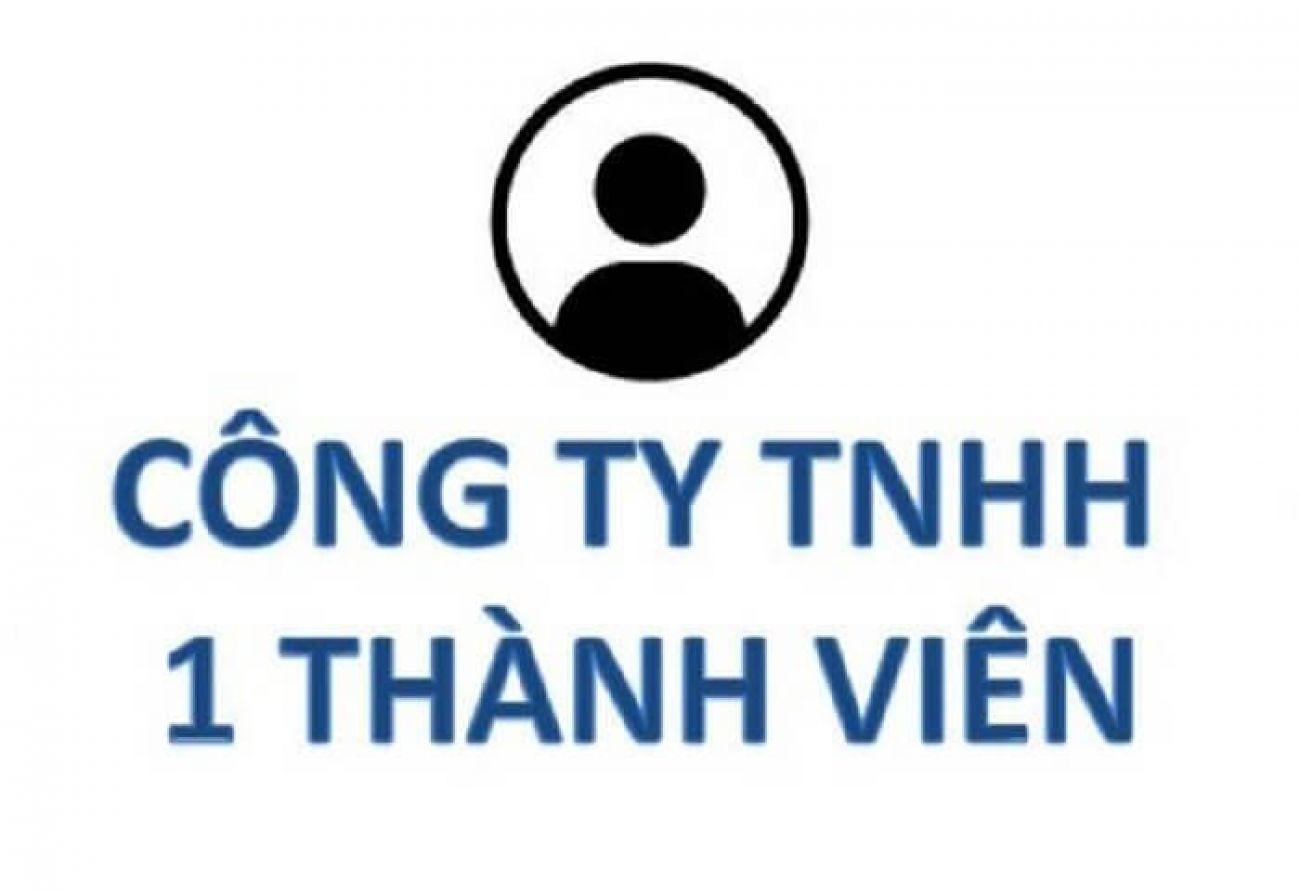 Thành lập công ty TNHH 1 thành viên