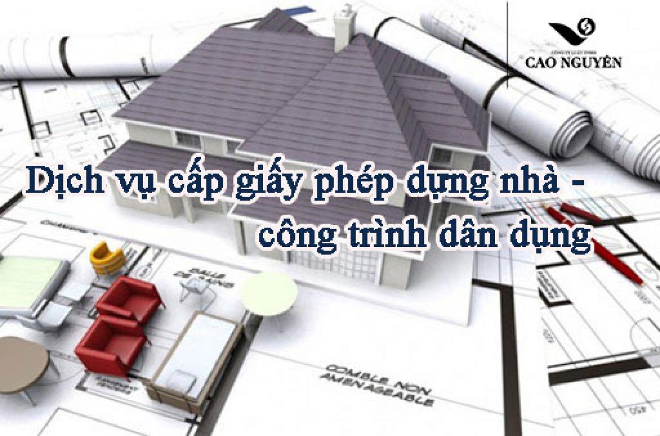 Dịch vụ cấp giấy phép xây dựng