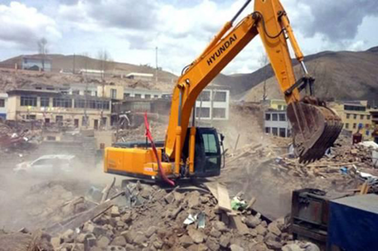 Phá dỡ công trình đang thi công khi giấy phép xây dựng hết hạn