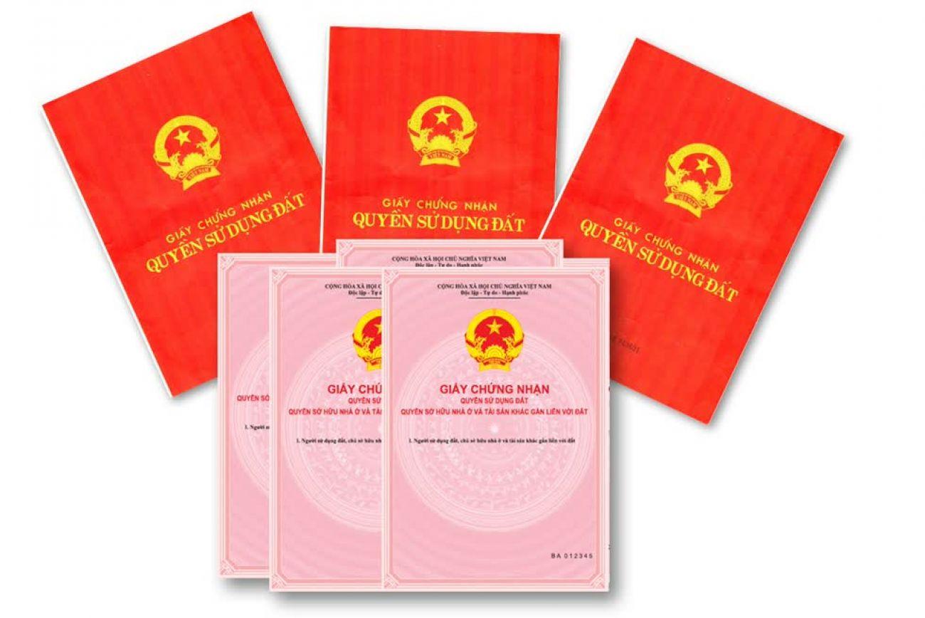 Trường hợp từ chối nhận hồ sơ cấp Giấy chứng nhận QSDĐ