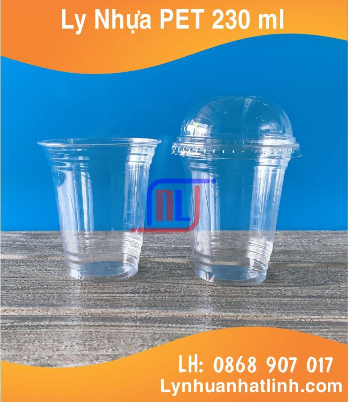Ly Nhựa PET 230ml