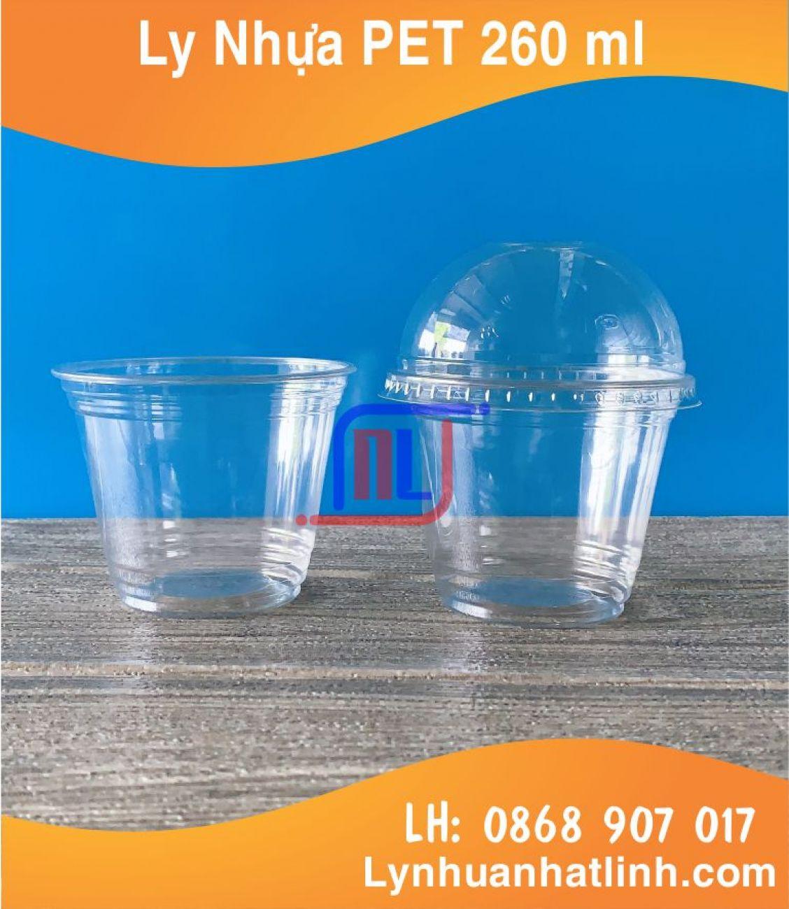 Ly Nhựa PET 260ml