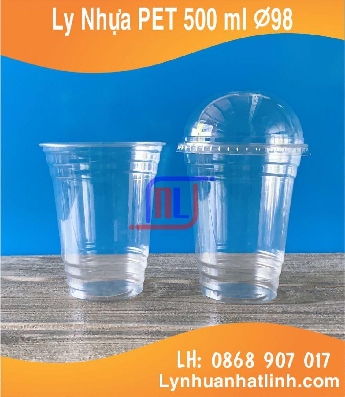 Ly Nhựa PET 500ml ( Ø 98 )