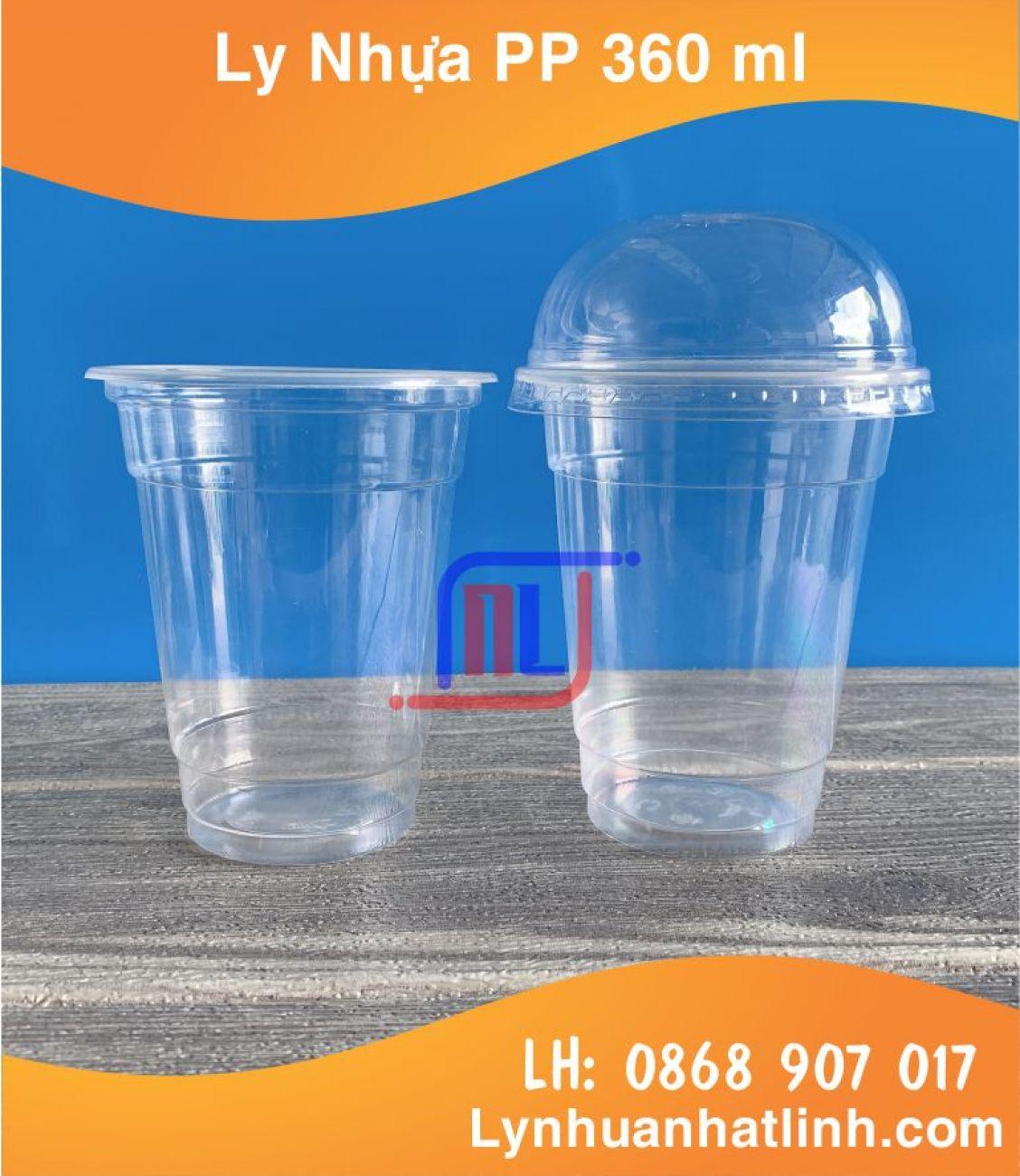 Ly Nhựa PP 360ml