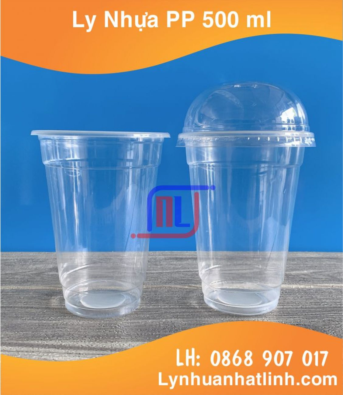 Ly Nhựa PP 500ml