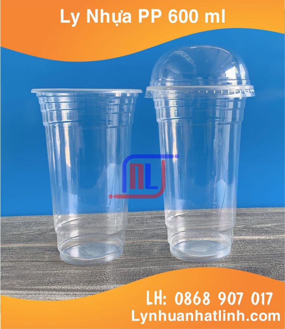 Ly Nhựa PP 600 ml