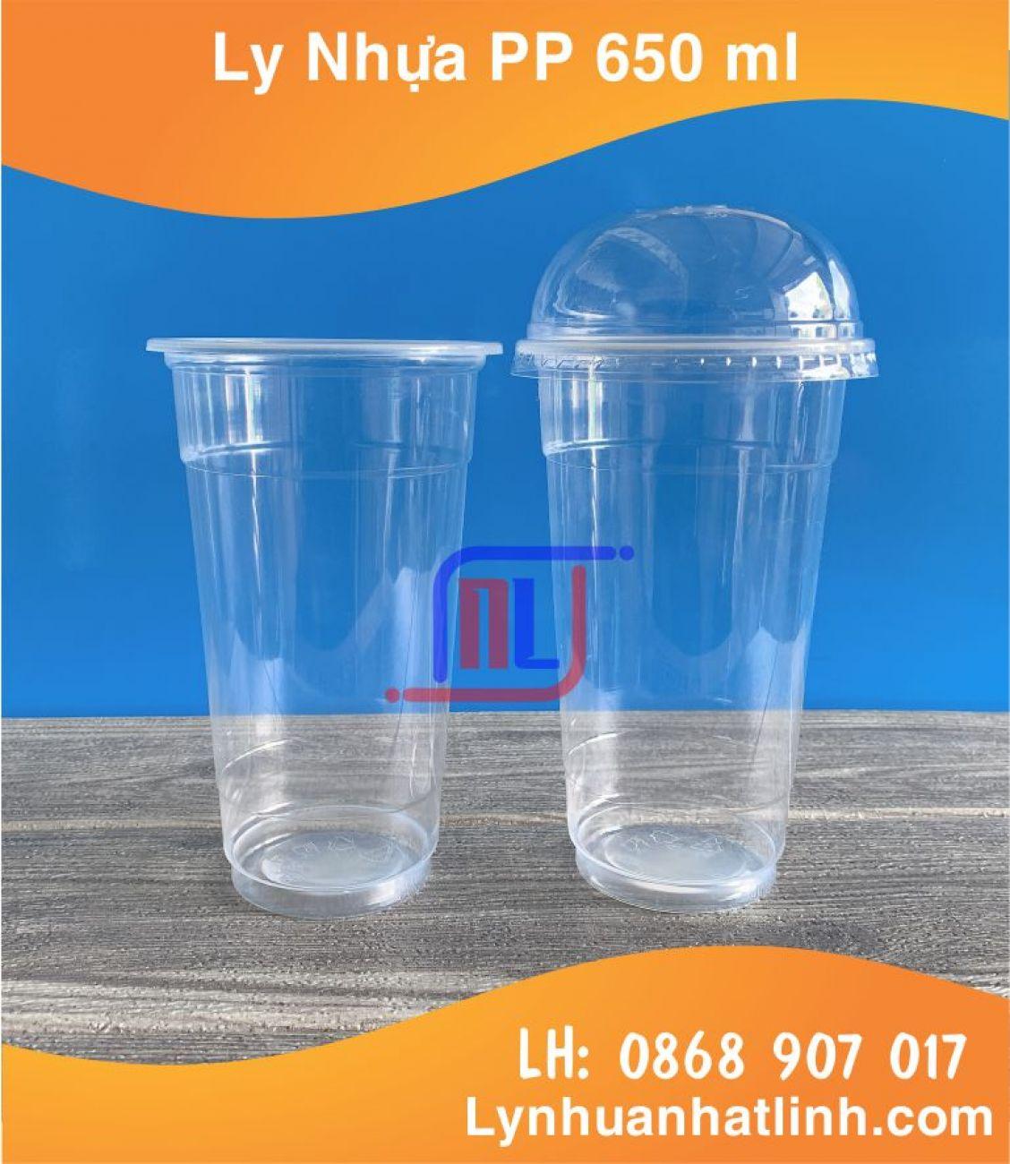 Ly Nhựa PP 650 ml