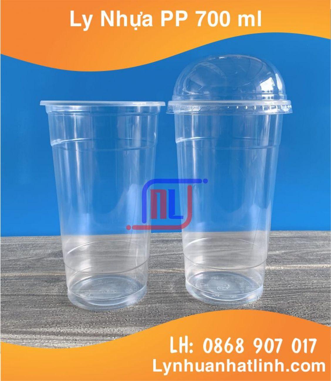 Ly Nhựa PP 700 ml