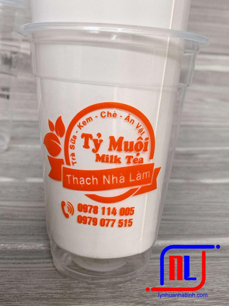 mẫu in ly trà sữa