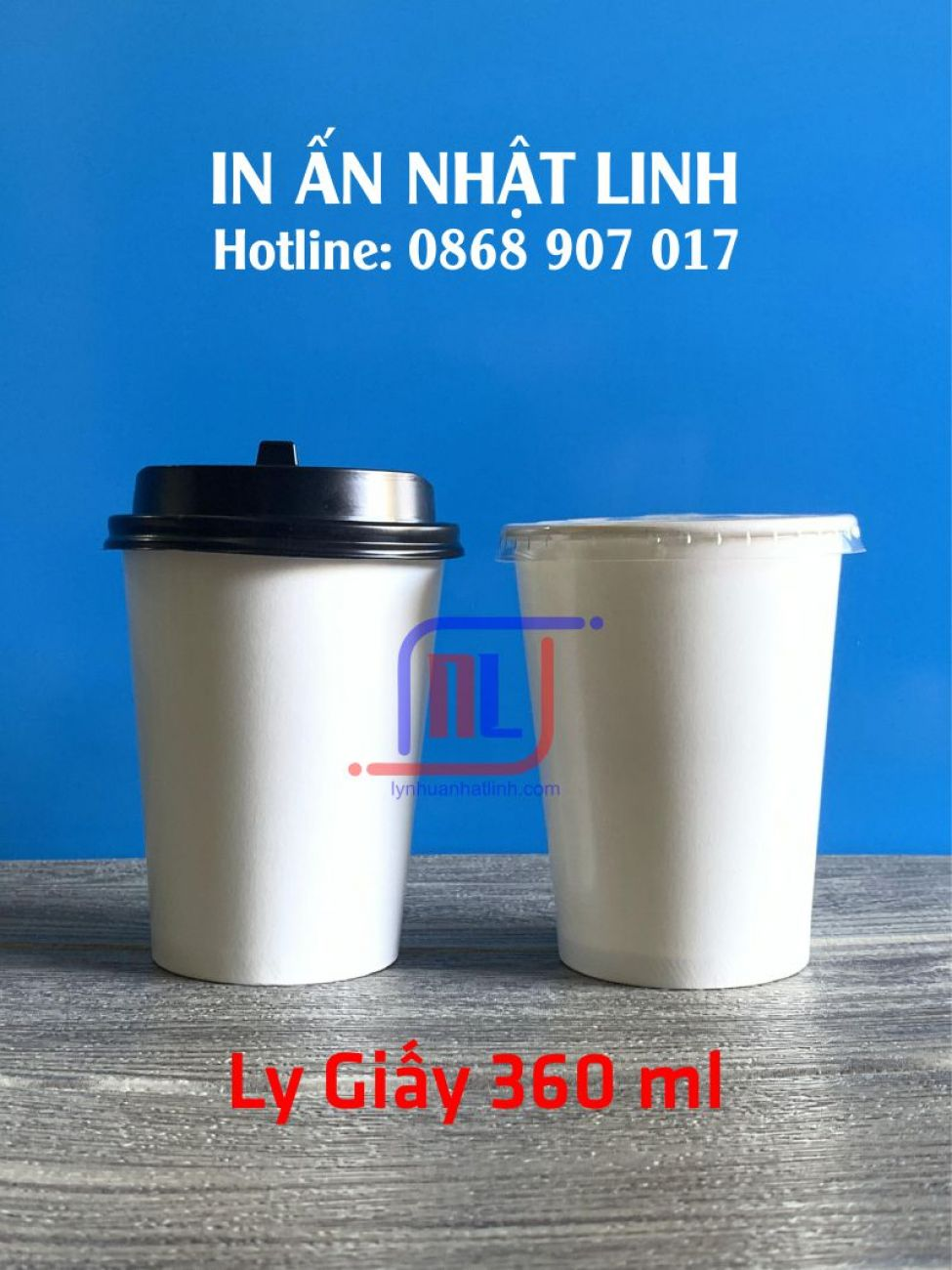 Ly Giấy 360ml