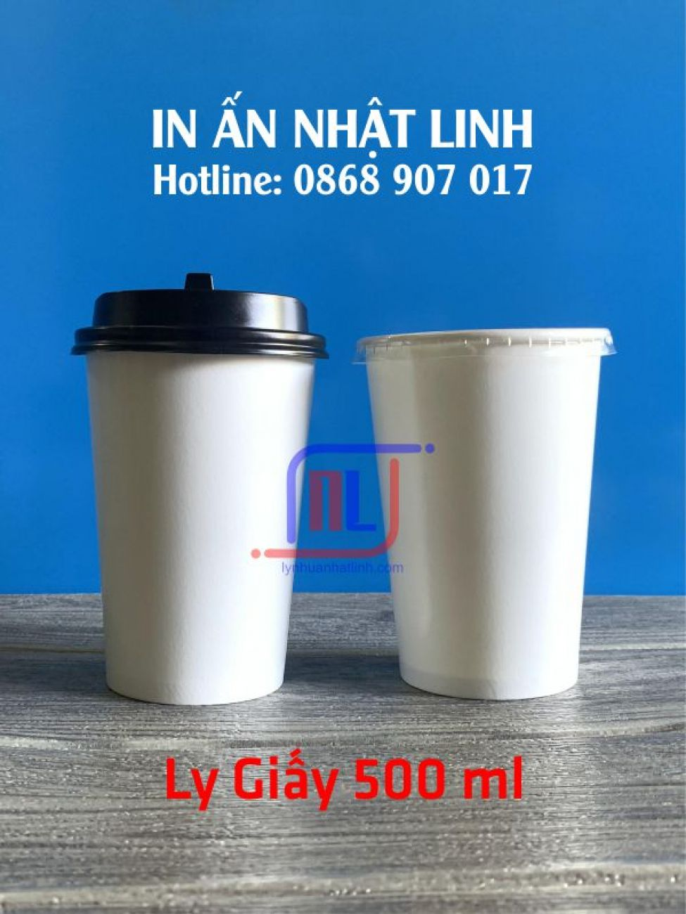 Ly Giấy 500ml