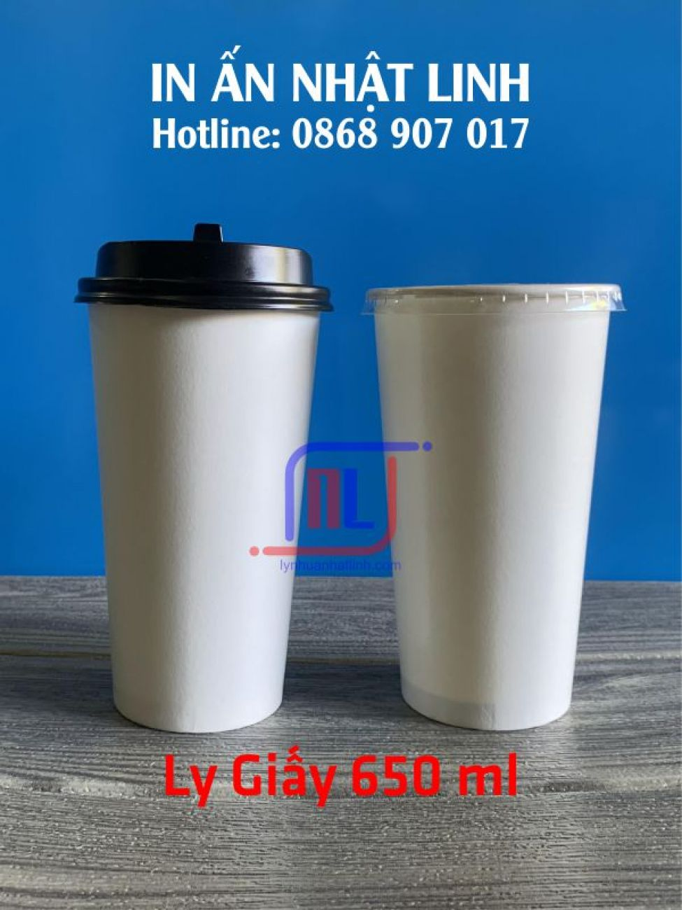 Ly giấy 650ml