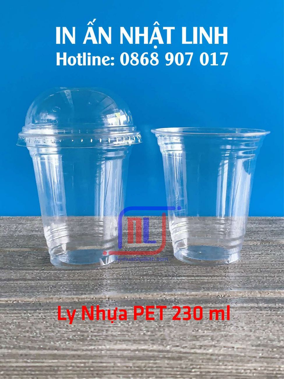 Ly Nhựa PET 230ml