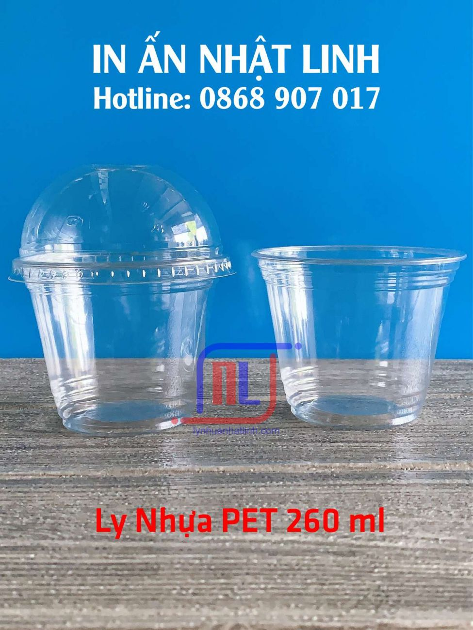 Ly Nhựa PET 260ml
