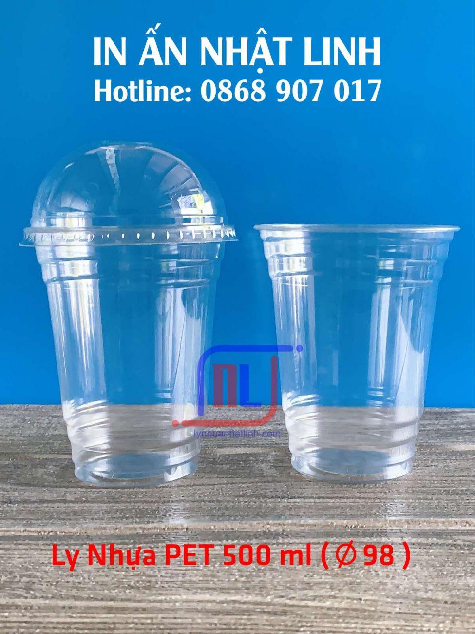 Ly nhựa Pet 500 ml