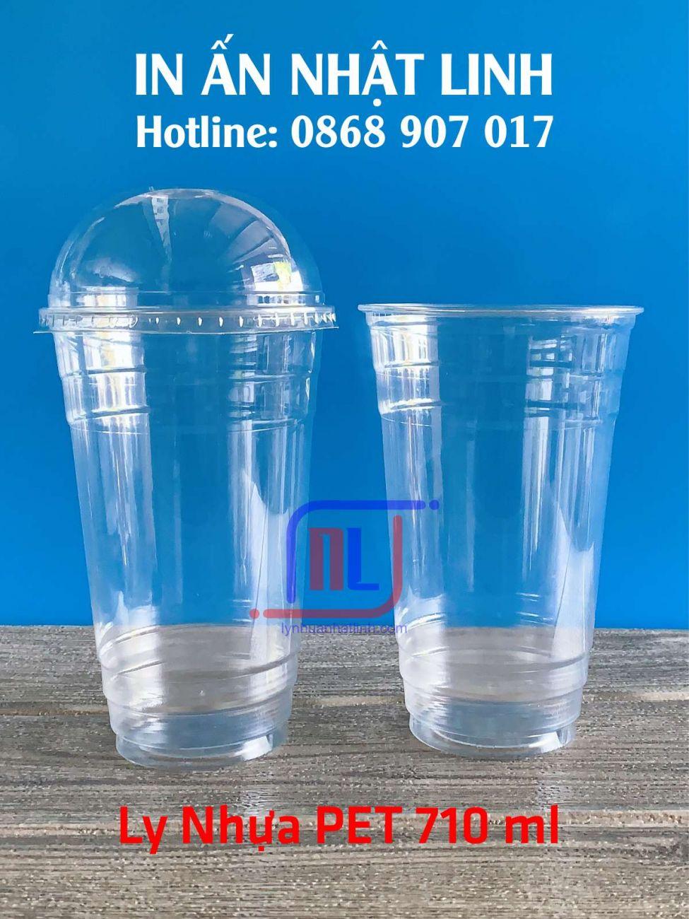 Ly Nhựa PET 700 ml