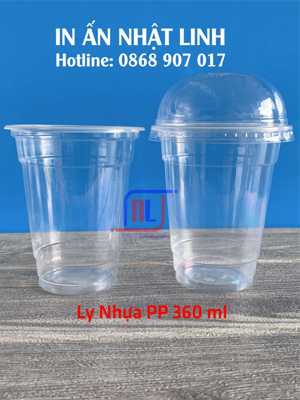 Ly Nhựa PP 360ml