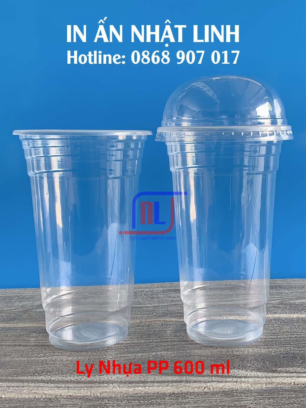 Ly Nhựa PP 600 ml