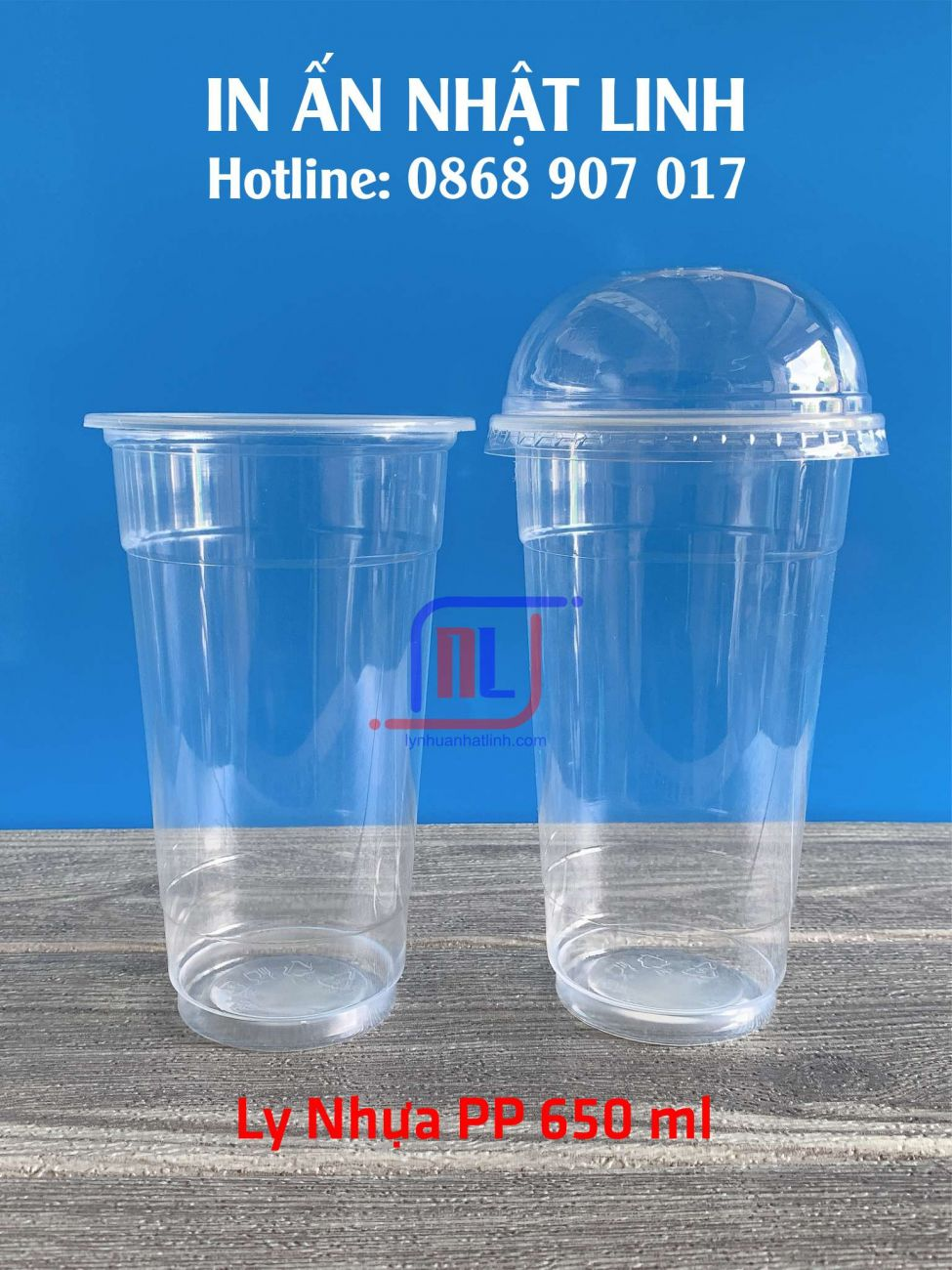 Ly Nhựa PP 650 ml
