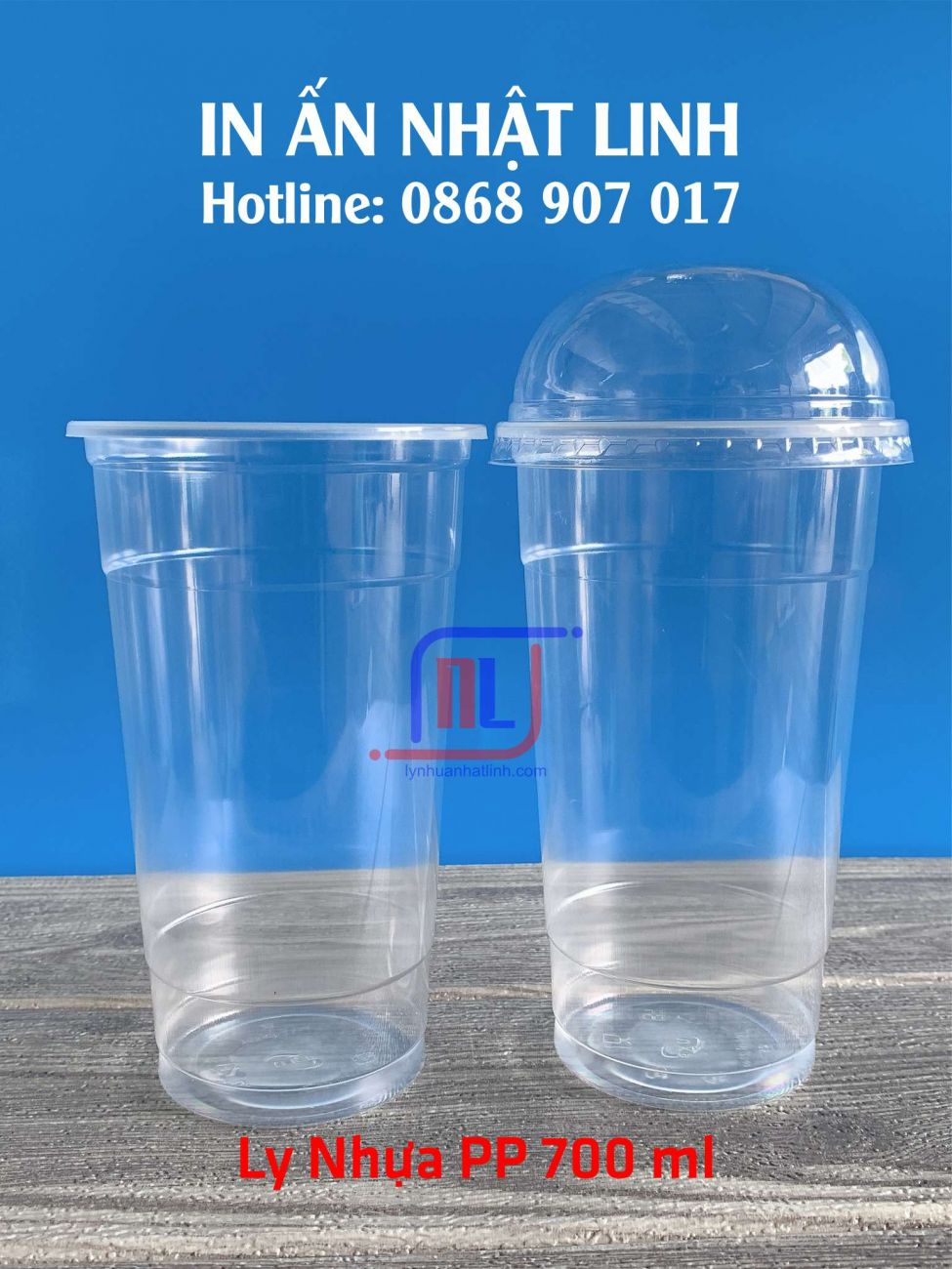 Ly Nhựa PP 700 ml
