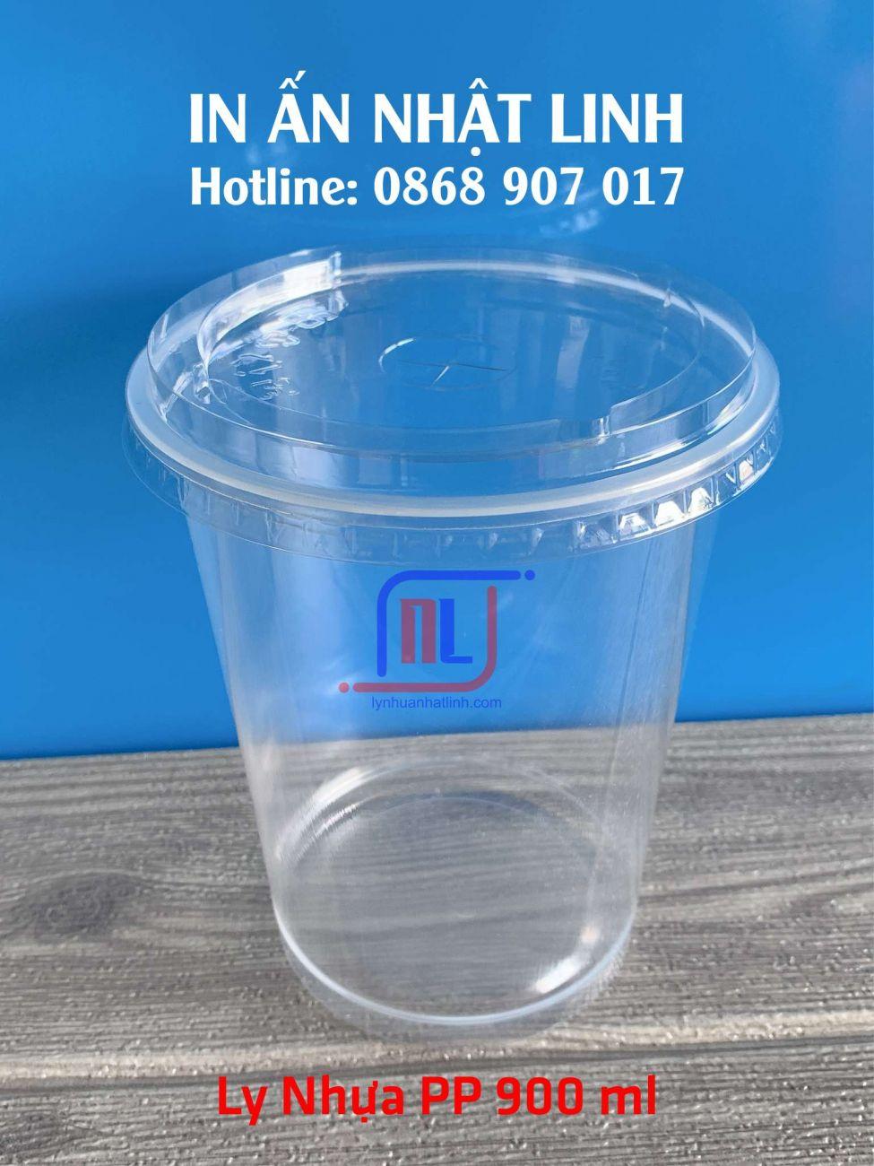 Ly Nhựa PP 900 ml