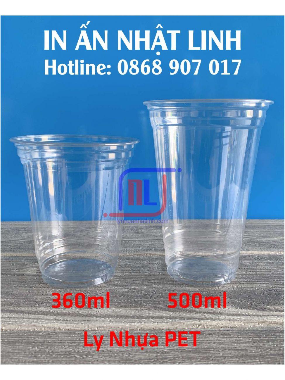 Ly Nhựa PET ( HOT )