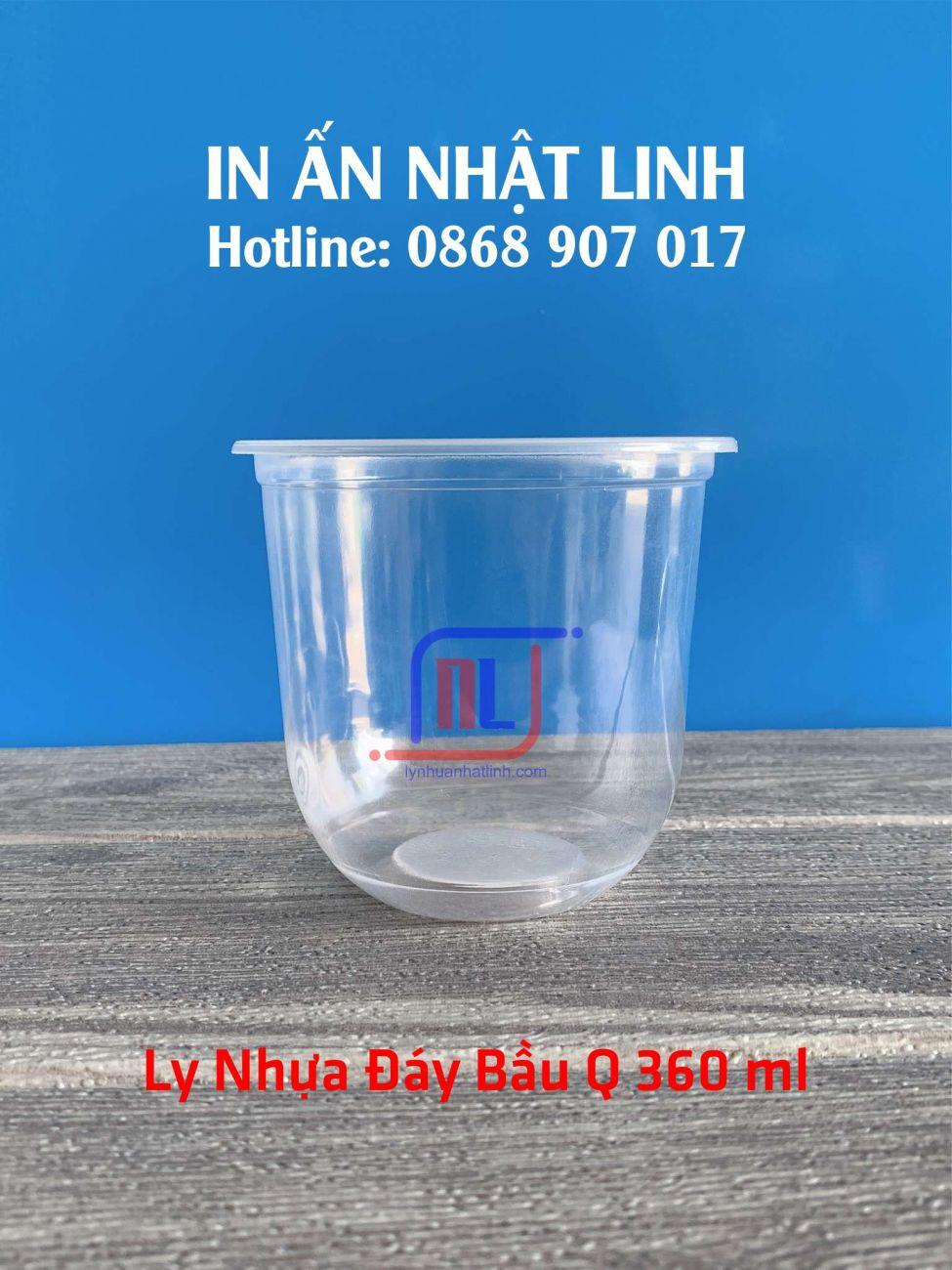 Ly đáy bầu 360 ml