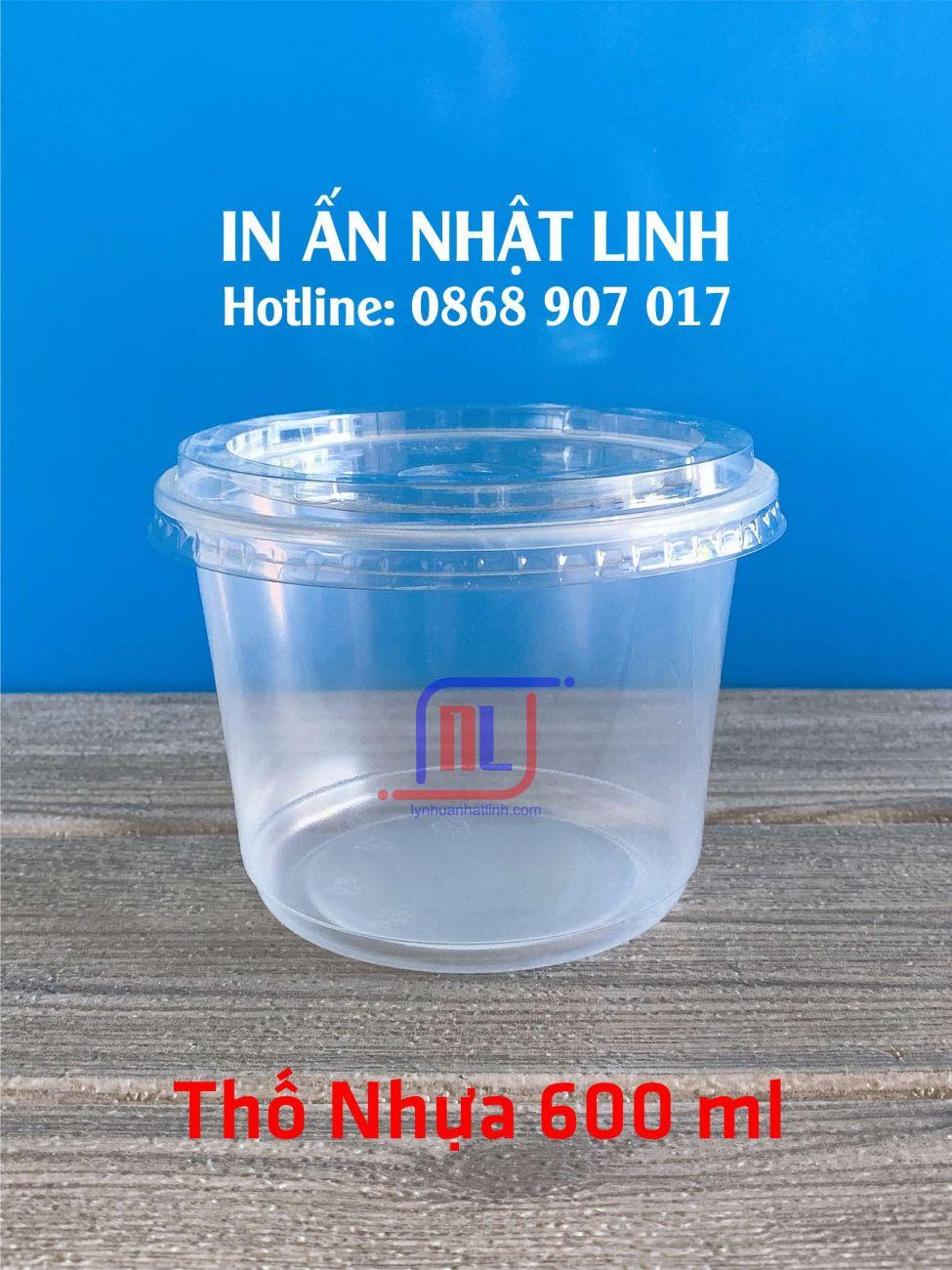 Tô Nhựa 600 ml