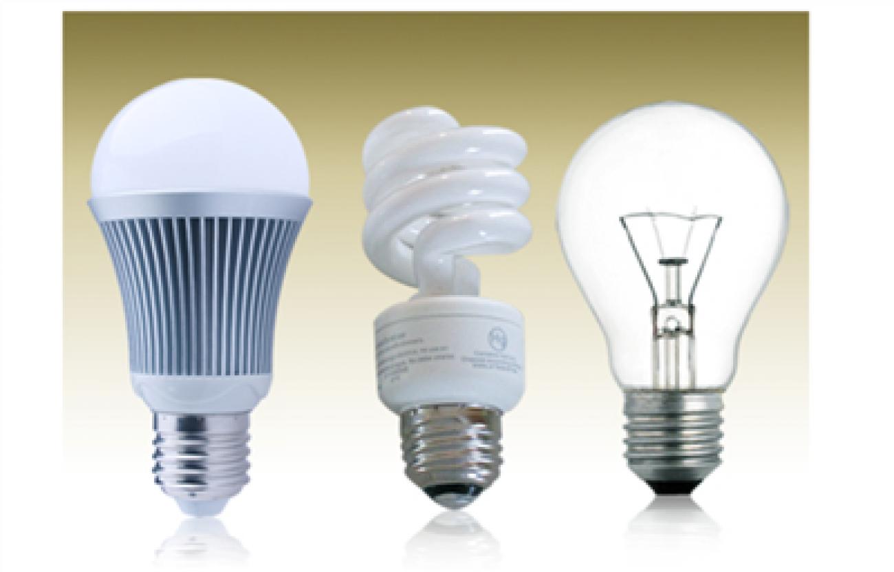 So sánh đèn LED với đèn sợi đốt, đèn huỳnh quang